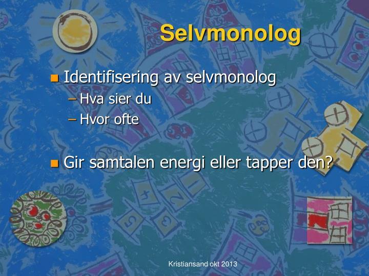 Selvmonolog