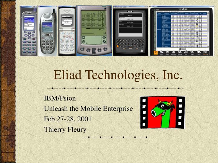 E liad technologies inc