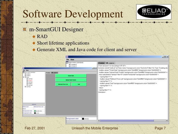 m-SmartGUI Designer