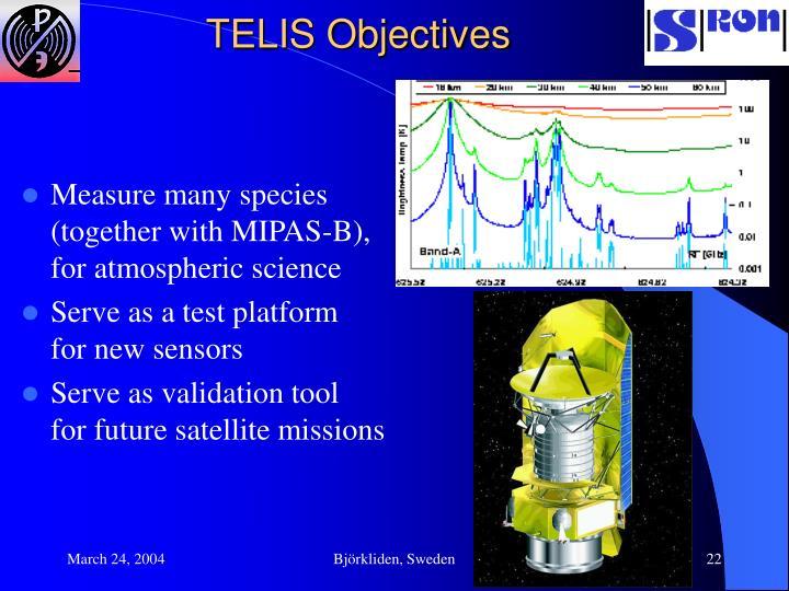 TELIS Objectives