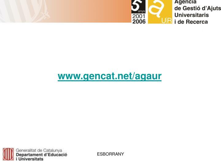 www.gencat.net/agaur