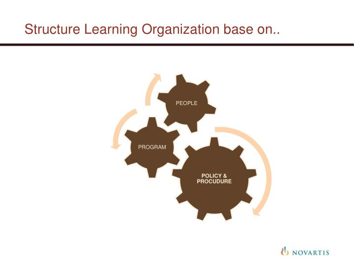 Structure Learning Organization base on..