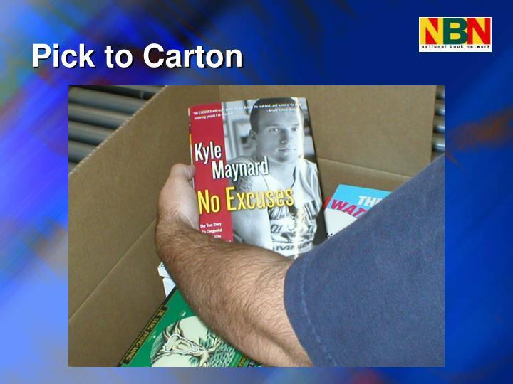 Pick to Carton