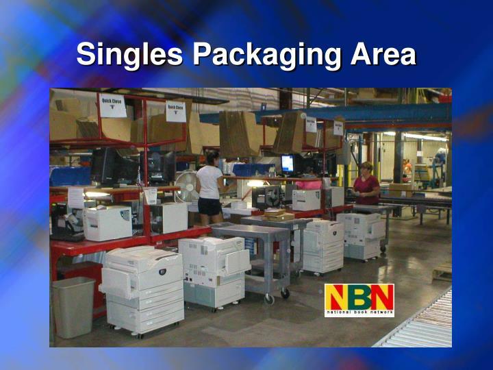 Singles Packaging Area