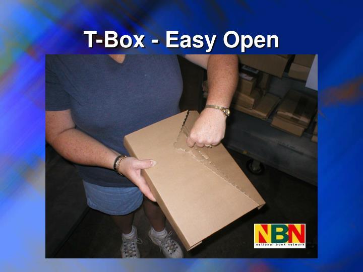 T-Box - Easy Open