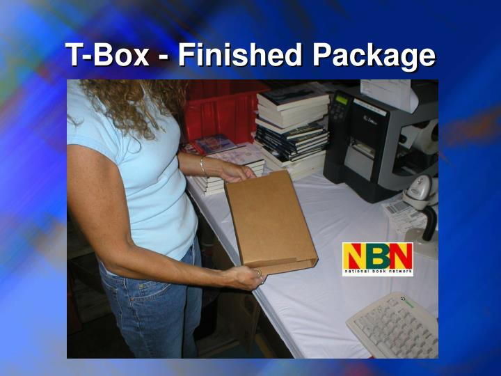 T-Box - Finished Package