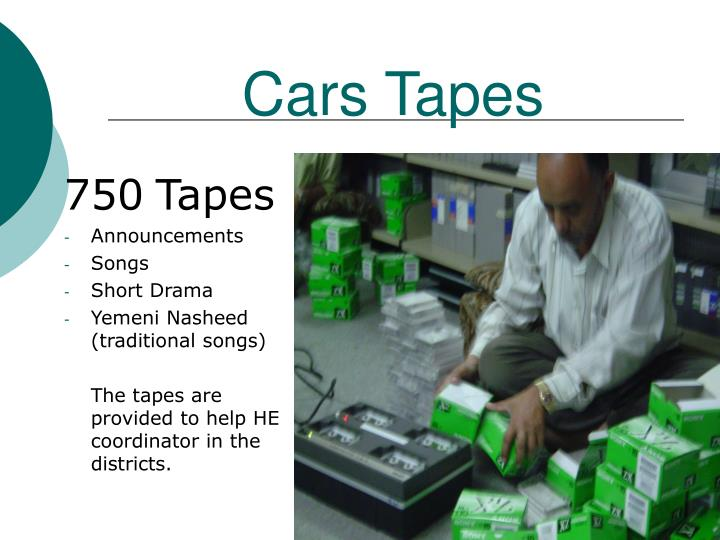 Cars Tapes
