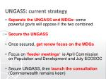 ungass current strategy