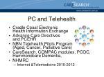 pc and telehealth