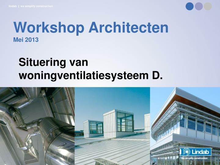Workshop Architecten