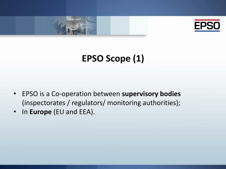 Epso scope 1