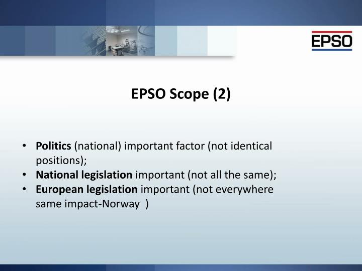 EPSO Scope (2)