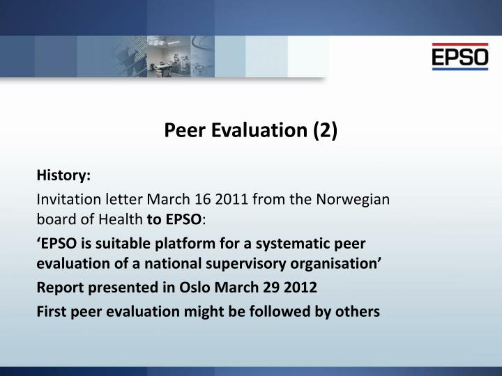 Peer Evaluation (2)