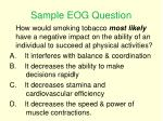 sample eog question