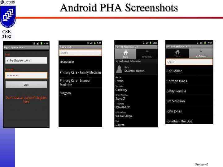 Android PHA Screenshots