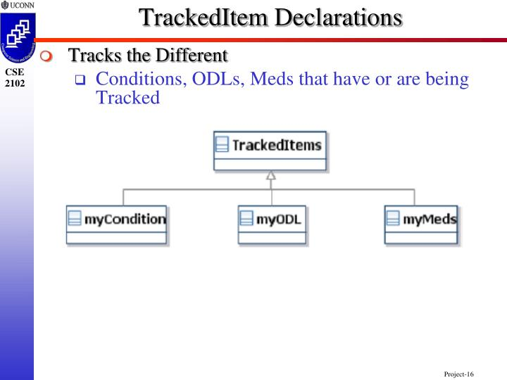 TrackedItem