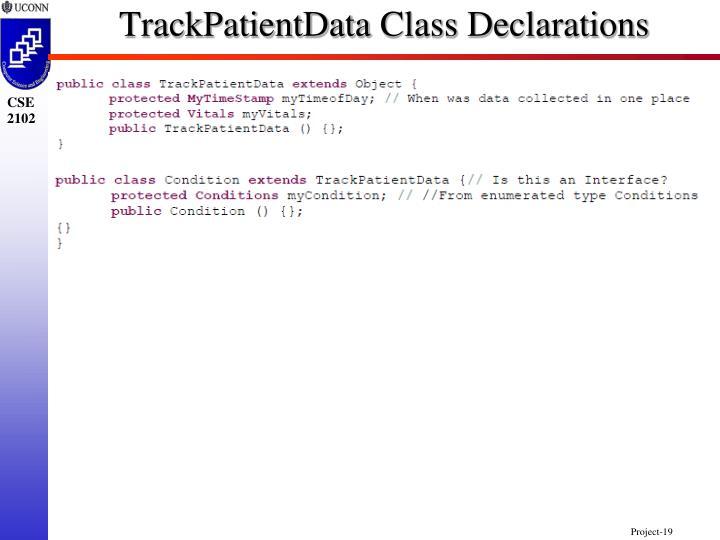 TrackPatientData