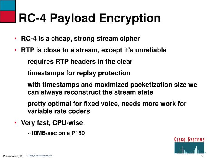 RC-4 Payload Encryption