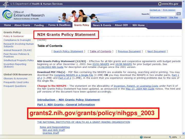 grants2.nih.gov/grants/policy/nihgps_2003
