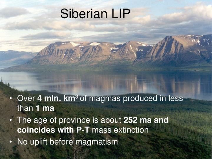 Siberian LIP