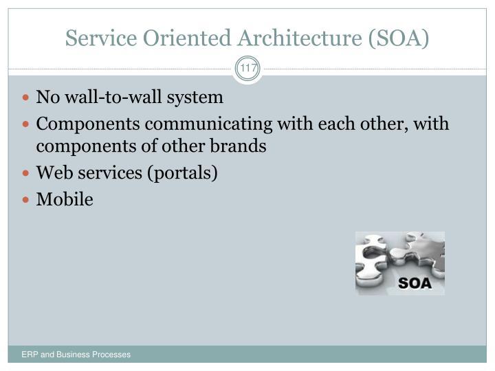 Service Oriented Architecture (SOA)