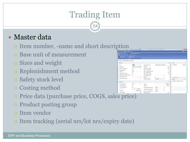 Trading Item
