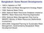 bangladesh some recent developments