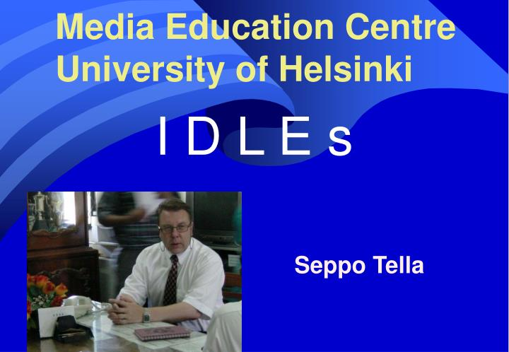Media education centre university of helsinki