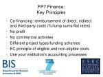fp7 finance key principles