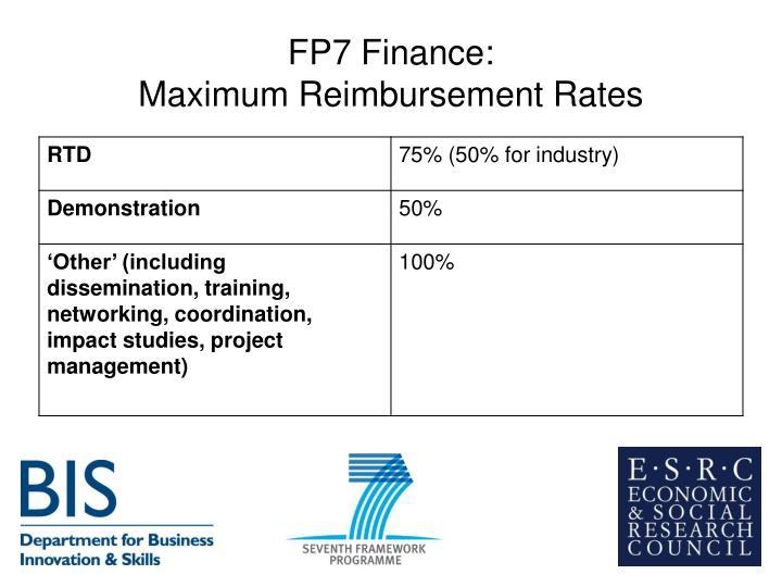 FP7 Finance: