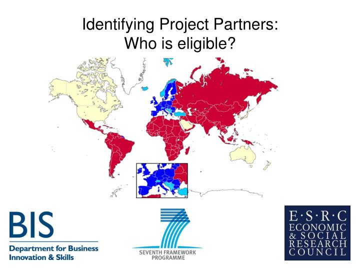 Identifying Project Partners: