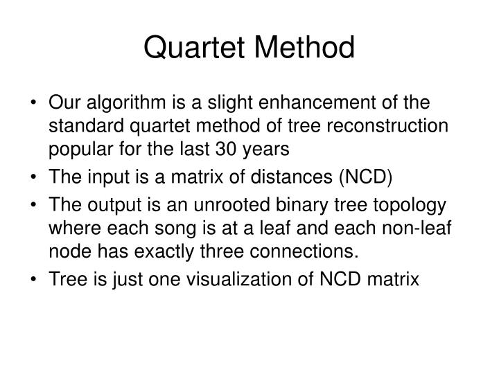 Quartet Method