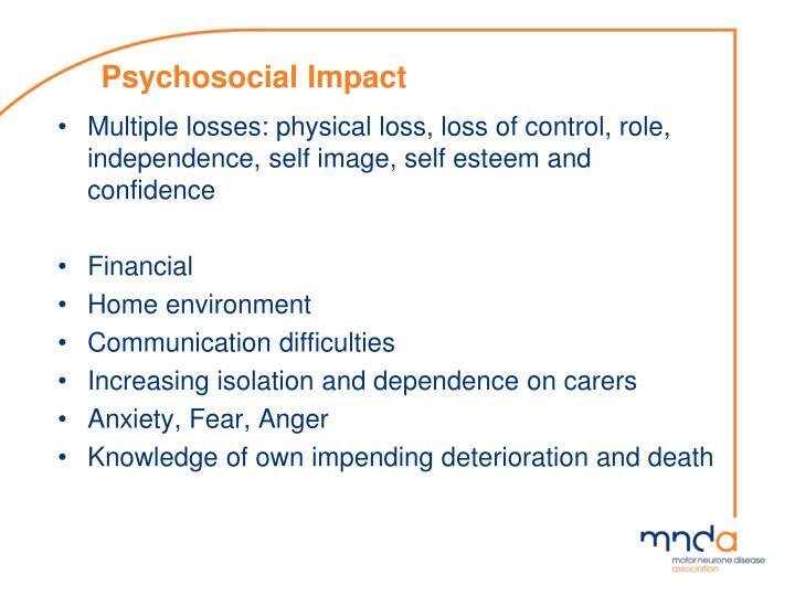 Psychosocial Impact