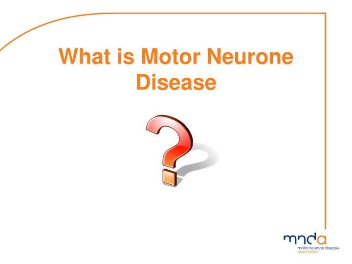 What is motor neurone disease