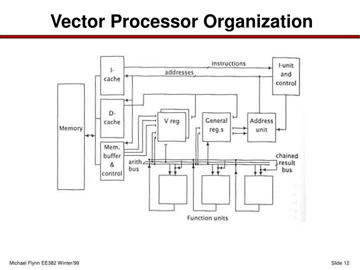 Vector Processor Organization