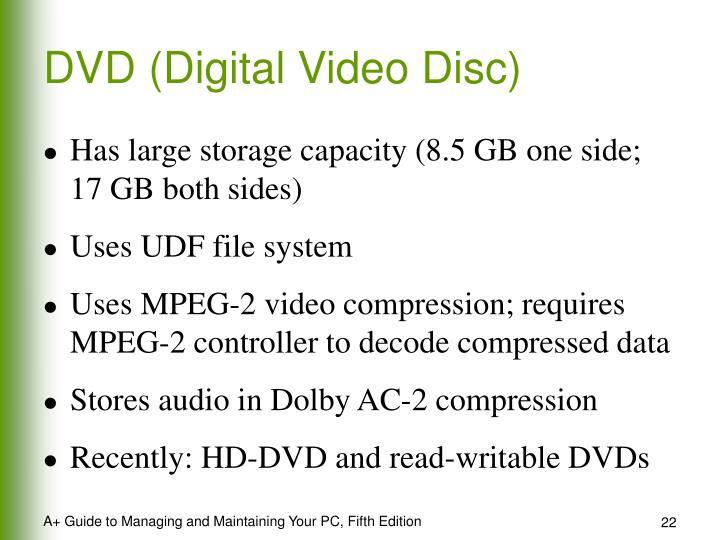 DVD (Digital Video Disc)