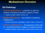 mediastinum diversion