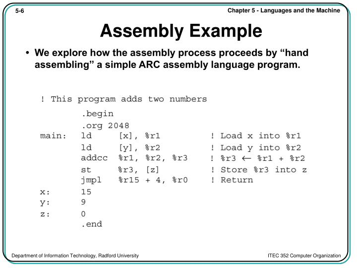 Assembly Example