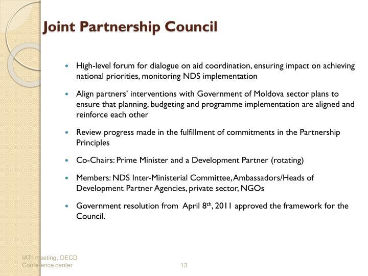 Joint Partnership Council