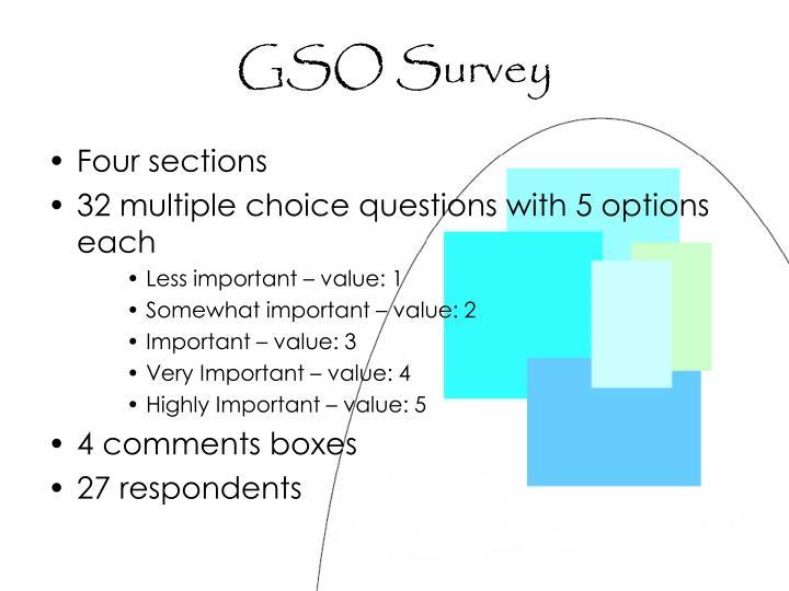 Gso survey