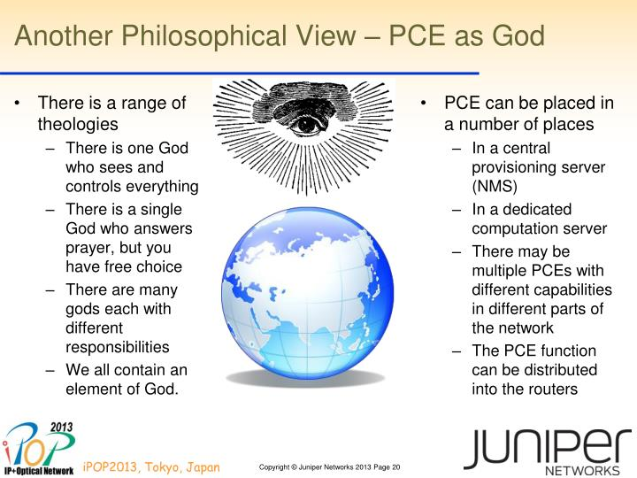 Another Philosophical View – PCE as God