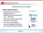 cafescribe rent digital