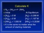 calculate k1