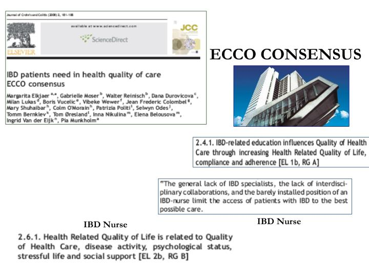 ECCO CONSENSUS