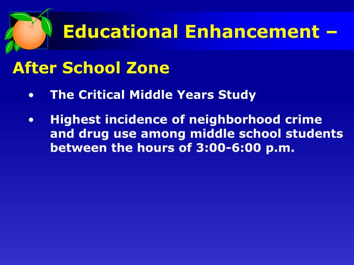 After School Zone
