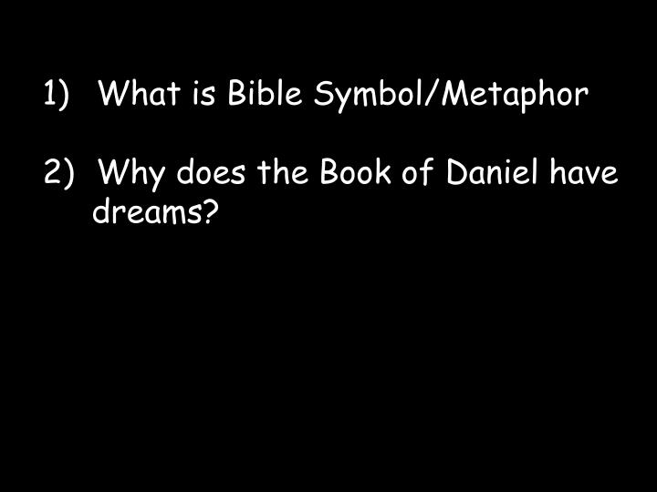 What is Bible Symbol/Metaphor