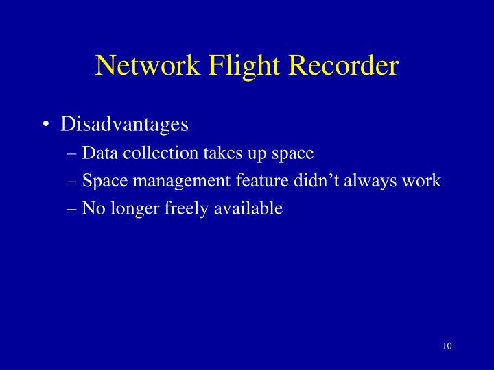 Network Flight Recorder