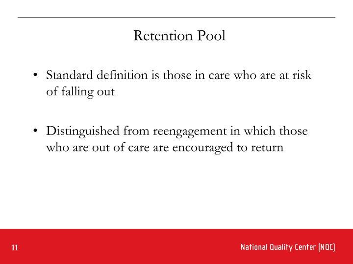 Retention Pool