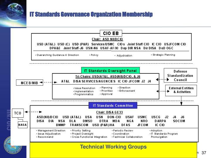 IT Standards Governance Organization Membership