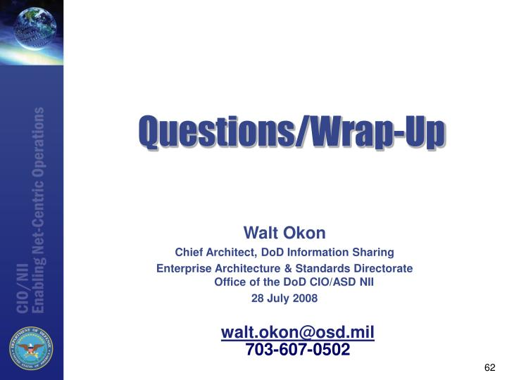 Questions/Wrap-Up